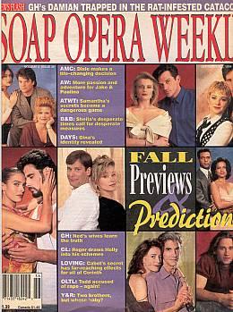 Soap Opera Weekly September 6, 1994