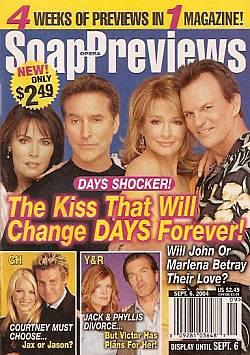 Soap Opera Previews September 6, 2004