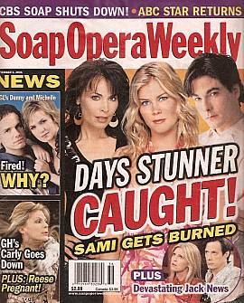 Soap Opera Weekly September 6, 2005