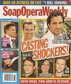 Soap Opera Weekly - September 6, 2011