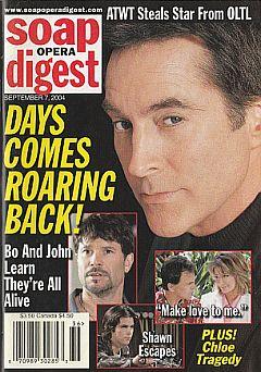 Soap Opera Digest Sept. 7,  2004