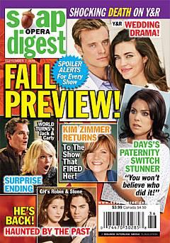 Soap Opera Digest September 7, 2010