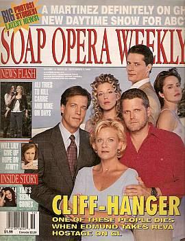 Soap Opera Weekly September 7, 1999