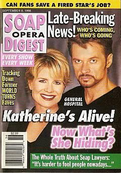 Soap Opera Digest - September 8, 1998