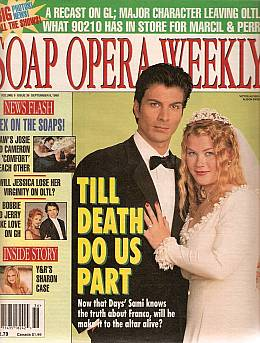 Soap Opera Weekly September 8, 1998