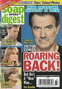 Soap Opera Digest September 9, 2008
