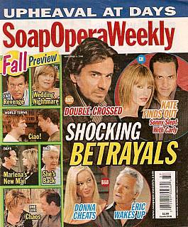Soap Opera Weekly Sept. 9, 2008