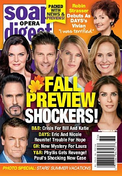 Soap Opera Digest September 9, 2019