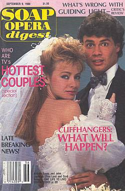 Soap Opera Digest September 9, 1986