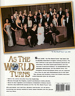 Rear Cover of the As The World Turns 40th Anniversary Edition Hardcover Book