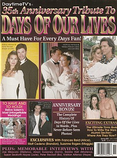 2001 Days Of Our Lives 35th Anniversary Tribute