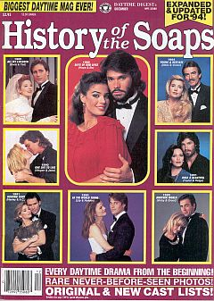 12-94 History Of The Soaps GUIDING LIGHT-ANOTHER WORLD