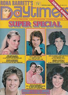 Rona Barrett's Daytimers 1978 Summer Annual