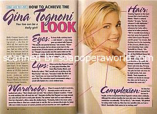 How To Achieve The Gina Tognoni Look (Kelly Cramer on One Life To Live)