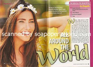 Interview with Jacqueline MacInnes Wood (Steffy on The Bold & The Beautiful)