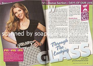 Interview with Christie Clark (Carrie on Days Of Our Lives)