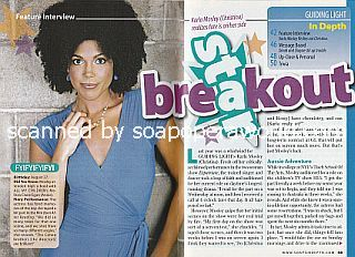 Interview with Karla Mosley (Christina on Guiding Light)