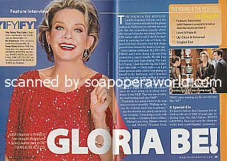 Interview with Judith Chapman (Gloria on The Young and The Restless)