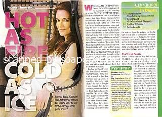 Interview with Rebecca Budig (Greenlee on All My Children)