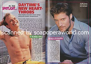 Daytime's Newest Heartthrobs featuring Craig Lawlor and Sean Kanan