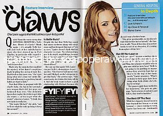 Interview with Chloe Lanier (Nelle on General Hospital)