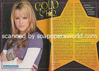 Gold Star Performer Julie Marie Berman of General Hospital