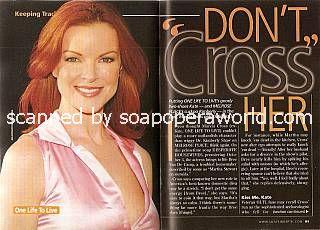 Marcia Cross (ex-Kate, OLTL)