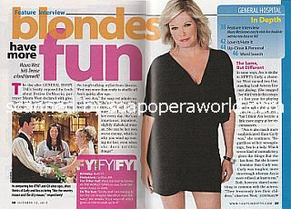 Interview with Maura  West (Maura plays Ava's alter ego of Denise on General Hospital)