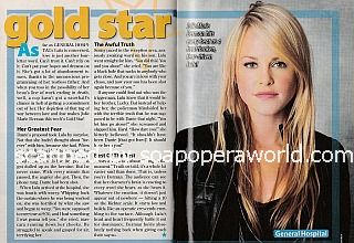 Gold Star Performer - Julie Marie Berman of General Hospital