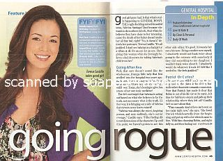 Interview with Teresa Castillo (Sabrina on the soap opera, General Hospital)