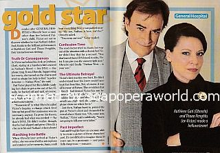 Gold Star Performers - Thaao Penghlis and Kathleen Gati of General Hospital