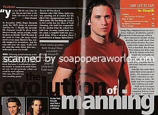 The Evolution of Manning featuring Roger Howarth of One Life To Live
