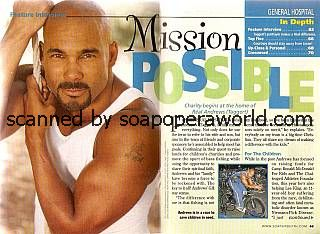 Real Andrews of General Hospital