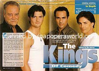 Ron Hale, Chad Brannon, Maurice Benard & Billy Warlock (Mike, Zander, Sonny & AJ, General Hospital)