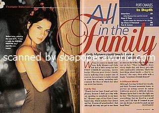Interview with Kelly Monaco (Livvie on the ABC soap opera, Port Charles)