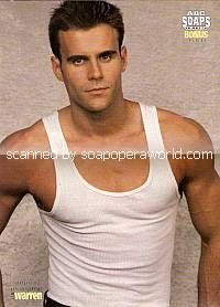 Pullout Centerfold Poster of Cameron Mathison (Ryan, AMC)