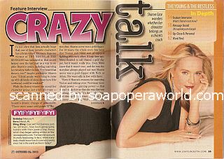 Interview with Sharon Case (Sharon on The Young & The Restless)