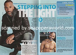 Interview with Donnell Turner (Curtis on General Hospital)