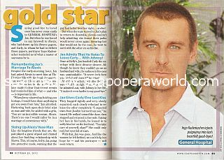Gold Star Performer Ingo Rademacher (Jax on General Hospital)