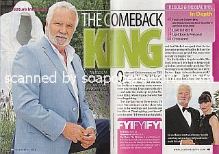 Interview with John McCook (Eric Forrester on The Bold and The Beautiful)