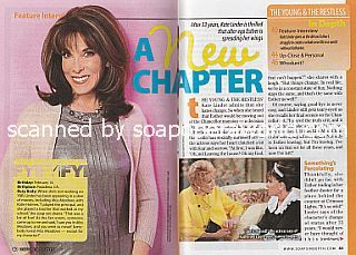 Interview with Kate Linder (Esther on The Young and The Restless)