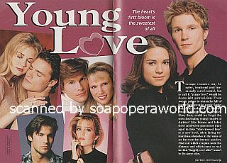 Young Love featuring Thad Luckinbill and Lyndsy Fonseca of Y&R
