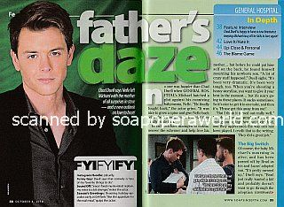 Interview with Chad Duell (Chad plays Michael Corinthos on General Hospital)