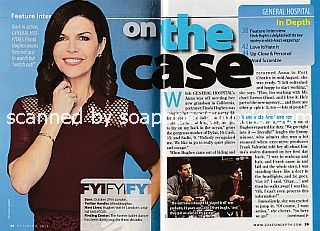 Interview with Finola Hughes (Anna on General Hospital)