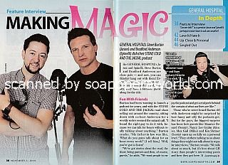 Interview with Steve Burton & Bradford Anderson of General Hospital