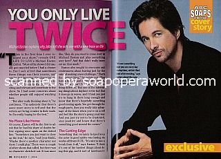 Interview with Michael Easton (John on One Life To Live)