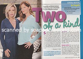 Interview with Donna Mills and Michelle Stafford (Madeline and Nina on General Hospital)