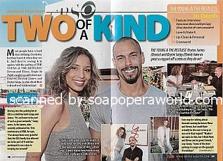 Two Of A Kind with Brytni Sarpy & Bryton James of The Young and The Restless