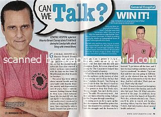 Win An Autographed T-Shirt from Maurice Benard of GH