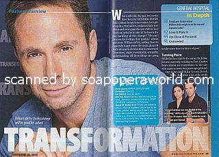 Interview with William deVry (William plays the role of Julian on General Hospital)